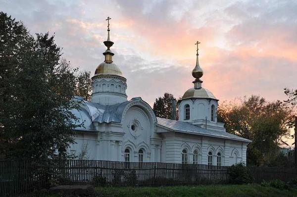 Кинешма. Церковь Александра Невского