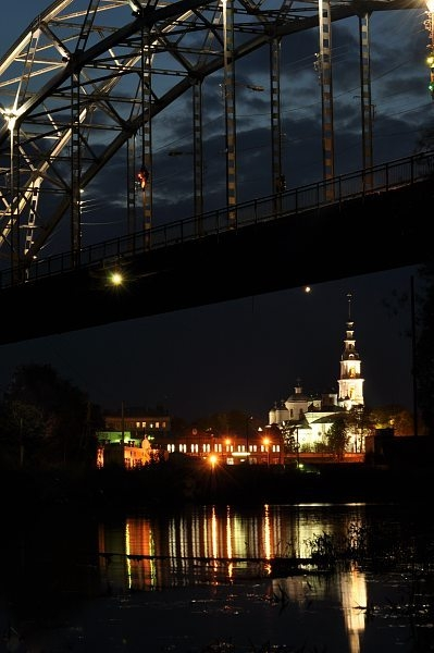 Кинешма. Никольский мост на реке Кинешемка