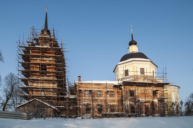 усадьба, подъячево, заброшенная усадьба, Лев Николаевич Толстой, церковь, никольская церковь, обольяново, олсуфьев