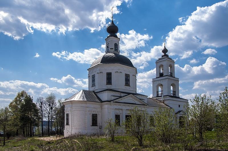 Сунгурово, Костромская область, церковь, река Волга, лето, родственники, шашлыки, воспоминания