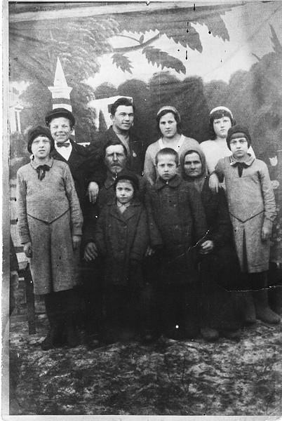 семья Грибковых