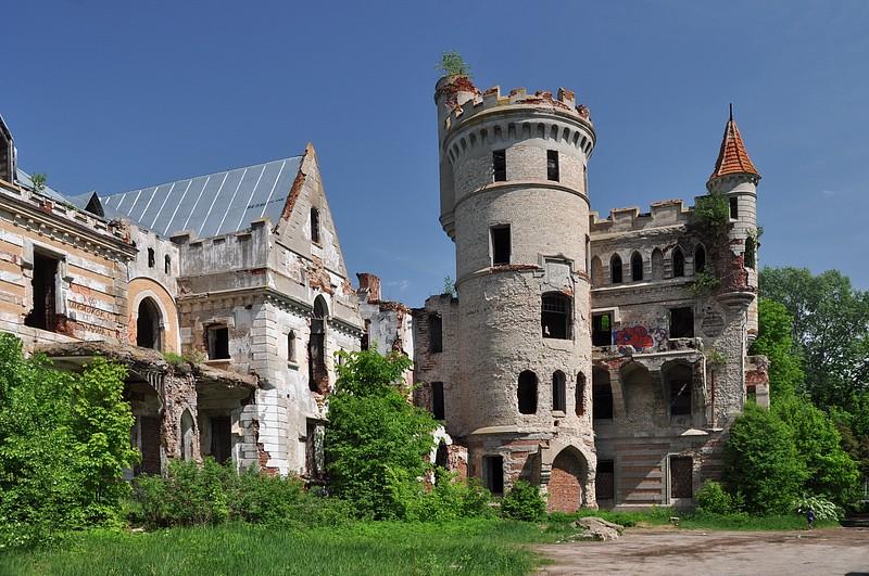 Храповицкий, замок храповицкого, муромцево, замок в муромцево, заколдованный замок, заброшенный замок, владимирская область, лето, легенда, графские пруды, конюшня, письмо крестьян,