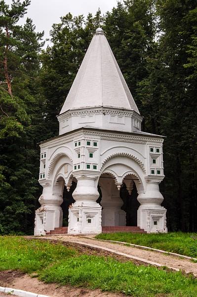 """часовня """"Крест"""", Иван Грозный, Федор Иоанович, Федоровский монастырь"""