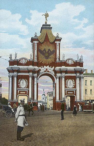 Красные ворота, Фотография ранее 1917 года, москва