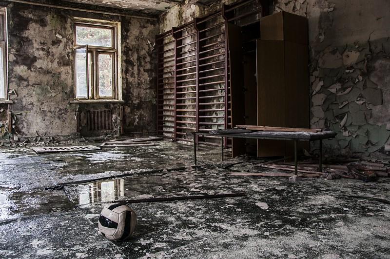 Кабинет физкультуры, Заброшенный санаторий им. В. П. Чкалова