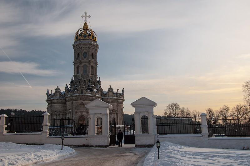 церковь иконы Божьей Матери «Знамение» в Дубровицах
