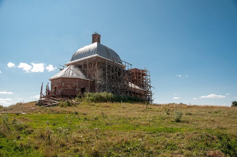 с. Филимоново.  Церковь Святого великомученика Димитрия Солунского.