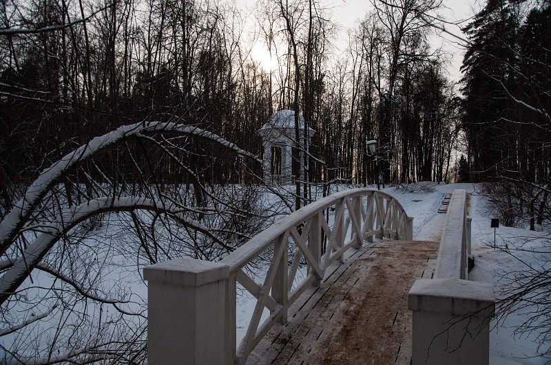"""""""Горбатый"""" мостик."""