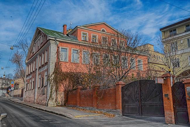 Москва, Подкопаевский переулок. Палаты Шуйских (XVII в.)