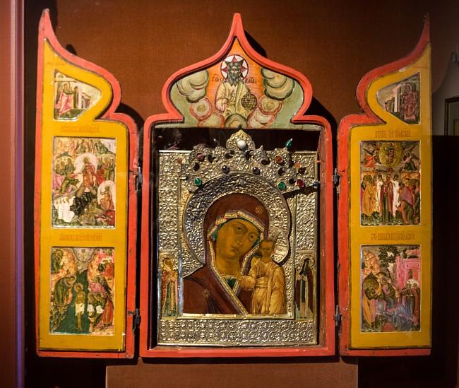 Икона Казанской Богоматери. Вклад Михаила Федоровича в Макарьевский Унженский монастырь
