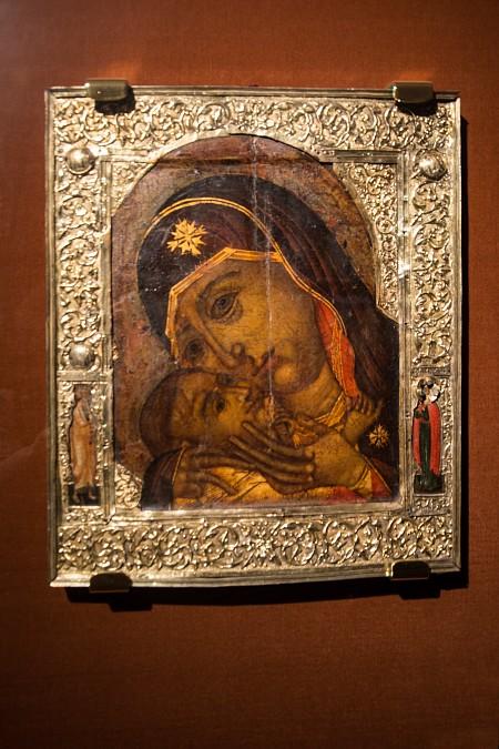 Икона Корсунской Божьей Матери. Вклад царя Алексея Михайловича Романова в Ипатьевский монастырь