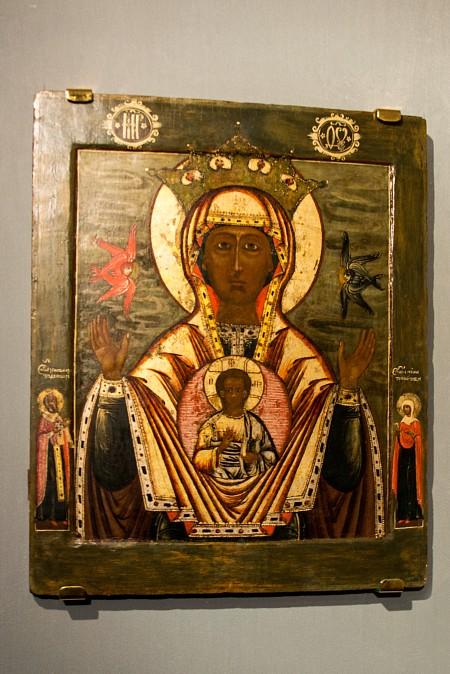 Иконы в палатах Романовых