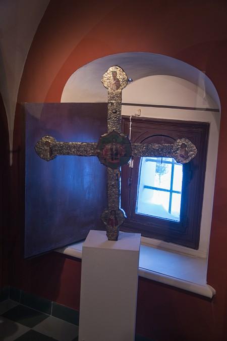 Выносной запрестольный крест. Конец XVI - начало XVII века
