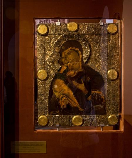 Икона Владимирская Богоматерь бывшая при посольстве. 13 марта 1613 года