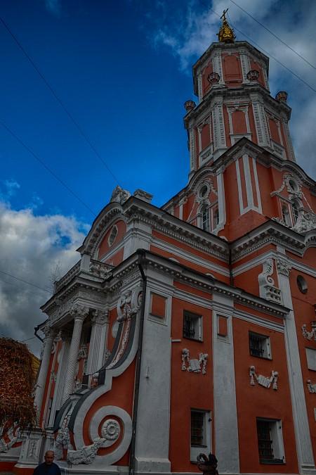 Церковь Архангела Гавриила (Меньшикова башня)
