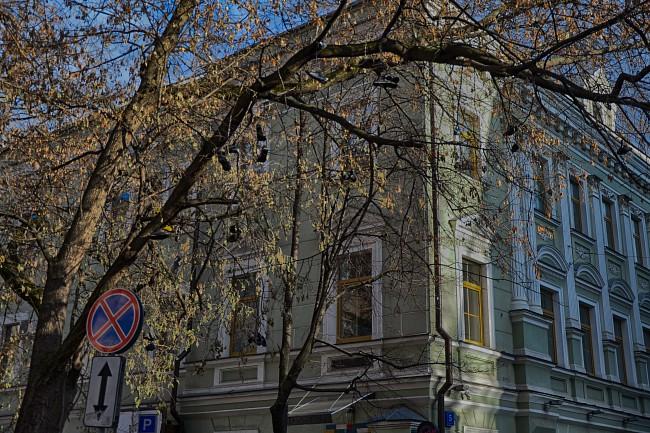 Потаповский переулок.