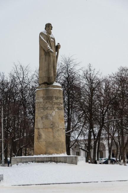 Памятник Ивану Сусанину.