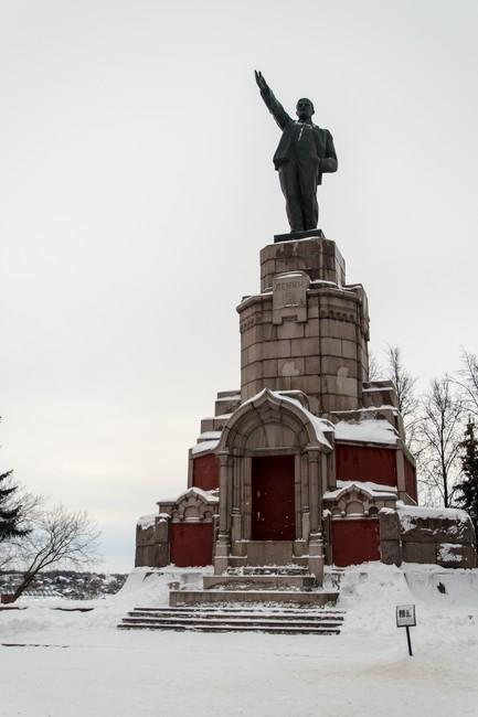 Памятник В.И. Ленину в Костроме