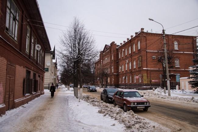 ул. Ленина Благородный пансион-приют, нач. XX в.
