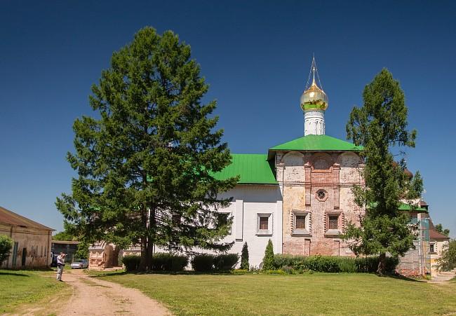 Борисоглебский монастырь. Благовещенская церковь.