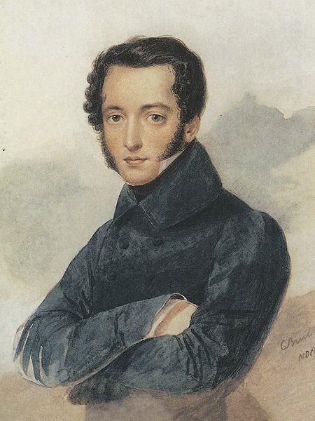 Александр Брюллов. Семен Павлович Бакунин (1802 - 3.09.1864). (1833)
