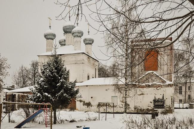 церковь Сретения Господня в г. Кинешме