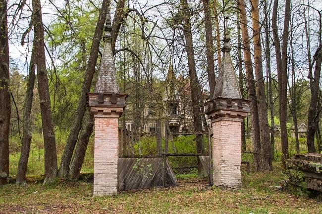 Ворота на дачу Разореновых