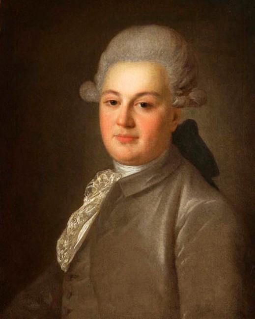 Ф. С. Рокотов - Портрет графа А. И. Воронцова