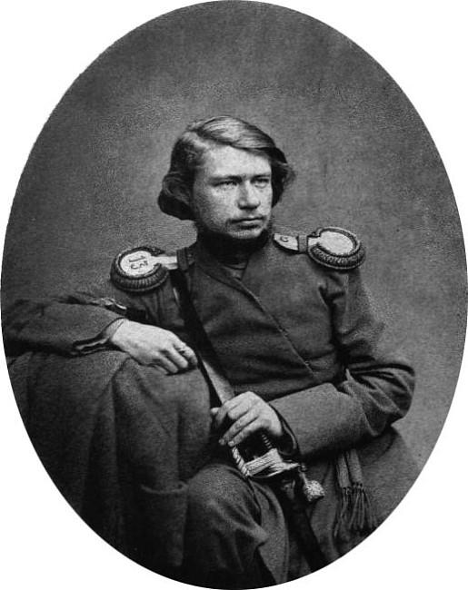 Алексей Антипович Потехин. Фотография С. В. Левицкого. 1856 г.