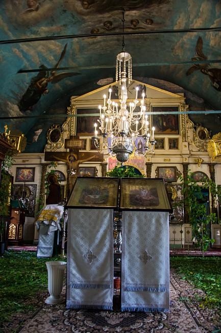 Храм Всемилостивого Спаса и Смоленской иконы Божией Матери.