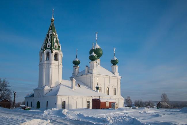 с. Михайловское. Церковь Михаила Архангела (1816—1822 гг)