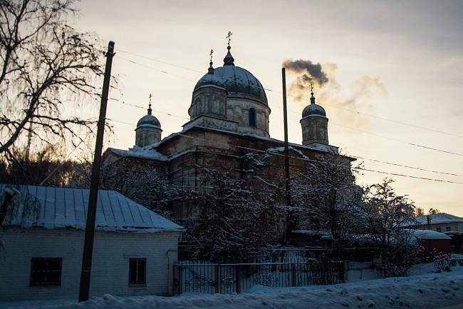 Галич. Николаевский Староторжский монастырь. Собор Троицы Живоначальной.