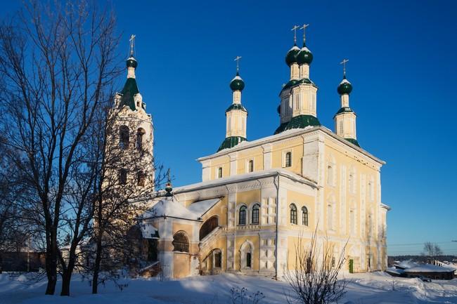 Солигалич. Собор Рождества Пресвятой Богородицы. (Между 1670 и 1820 г.г.)