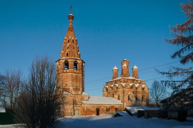 Солигалич. Воскресенский монастырь. Собор Воскресения Христова. (Между 1660 и 1669 г.г.)