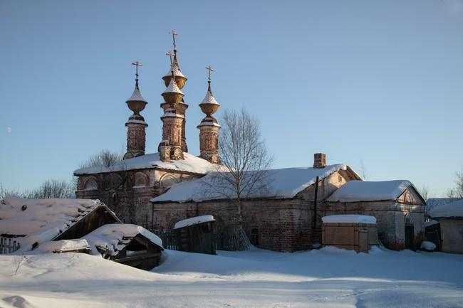 Солигалич. Воскресенский монастырь. Церковь Богоявления Господня. (1681 г.)