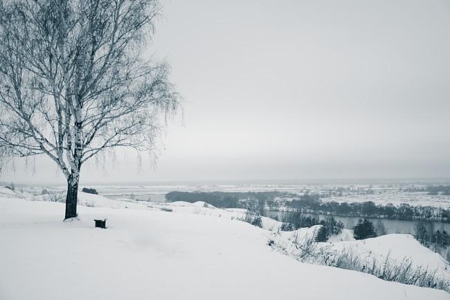 Село Константиново. река Ока