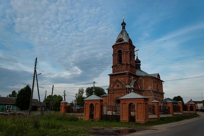 село Дунилово. Церковь Воздвижения Креста Господня.