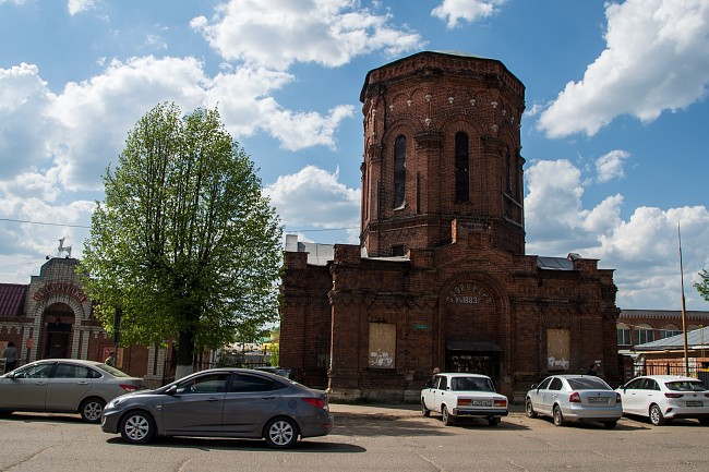 Шуйская водонапорная башня 1883 г