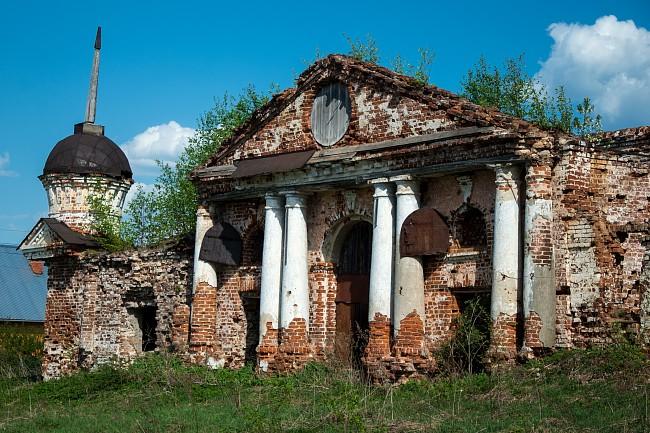 село Дунилово, Церковь Покрова Пресвятой Богородицы